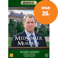 Produktbilde for Midsomer Murders - Box 8 (DVD)