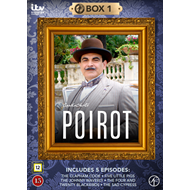 Produktbilde for Poirot - Box 1 (DVD)