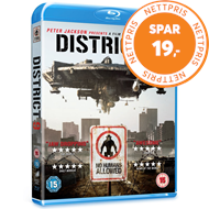 Produktbilde for District 9 (UK-import) (BLU-RAY)