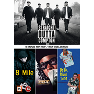 4 Movie Hip Hop Collection (DVD)