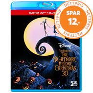 The Nightmare Before Christmas (UK-import) (Blu-ray 3D + Blu-ray)