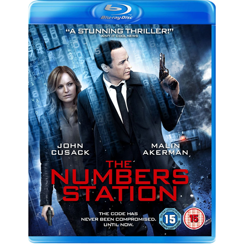 The Numbers Station (UK-import) (BLU-RAY)