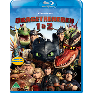 Produktbilde for Dragetreneren 1 & 2 (BLU-RAY)