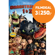 Produktbilde for Dragetreneren 1 & 2 (DVD)