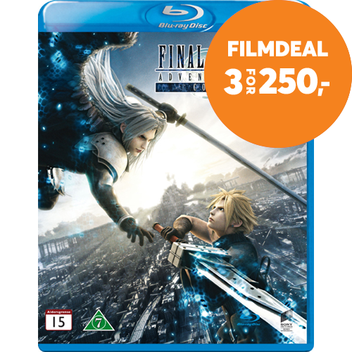 Final Fantasy VII - The Advent Children Complete (DK-import) (BLU-RAY)