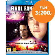 Final Fantasy - The Spirits Within (DK-import) (BLU-RAY)