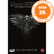 Game Of Thrones - Sesong 4 (DVD)