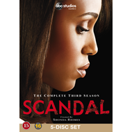 Produktbilde for Scandal - Sesong 3 (DK-import) (DVD)