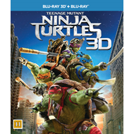 Teenage Mutant Ninja Turtles (Blu-ray 3D + Blu-ray)