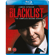 The Blacklist - Sesong 2 (BLU-RAY)