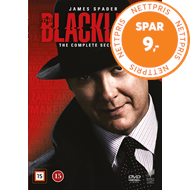 Produktbilde for The Blacklist - Sesong 2 (DVD)
