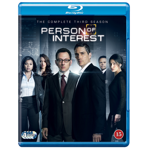 Person Of Interest - Sesong 3 (BLU-RAY)