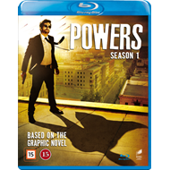 Powers - Sesong 1 (DK-import) (BLU-RAY)