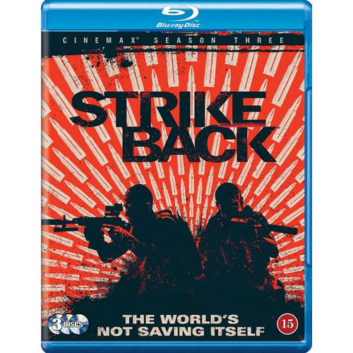 Strike Back - Sesong 3 (BLU-RAY)