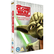 Star Wars - The Clone Wars - Sesong 2 (UK-import) (DVD)