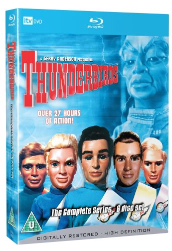 Thunderbirds - The Complete Series (UK-import) (BLU-RAY)