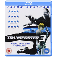 The Transporter 3 (UK-import) (BLU-RAY)
