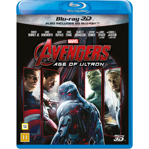 Avengers 2 - The Age Of Ultron (Blu-ray 3D + Blu-ray)