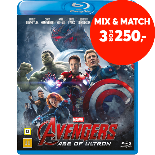 Avengers 2 - The Age Of Ultron (BLU-RAY)