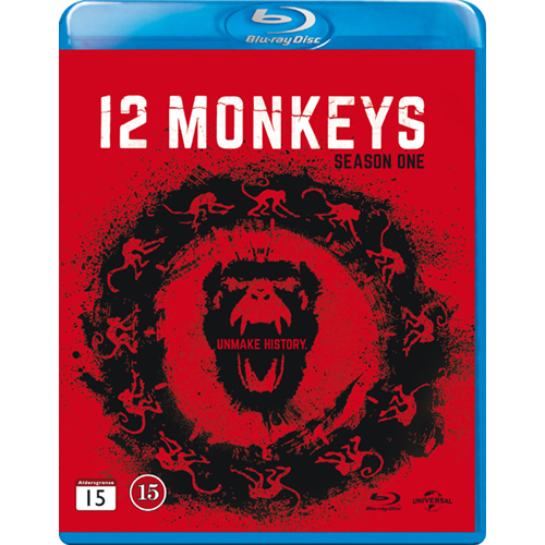 12 Monkeys - Sesong 1 (BLU-RAY)