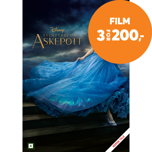 Eventyret Om Askepott (DVD)