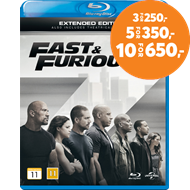 Produktbilde for Fast & Furious 7 - Extended Edition (BLU-RAY)