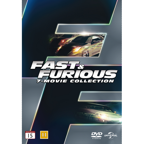 Fast & Furious - 7 Movie Collection (DVD)