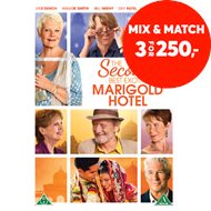 Produktbilde for The Second Best Exotic Marigold Hotel (DVD)