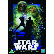 Star Wars Episode 6 - Jedi-Ridderen Vender Tilbake (UK-import) (DVD)