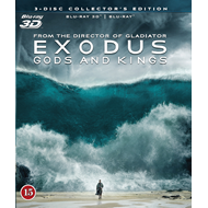 Exodus: Gods And Kings (Blu-ray 3D + Blu-ray)