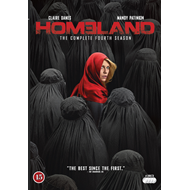 Produktbilde for Homeland - Sesong 4 (DVD)