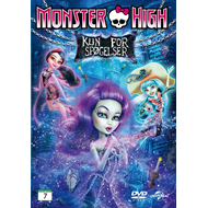 Monster High - Kun For Spøkelser (DVD)