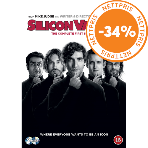 Silicon Valley - Sesong 1 (DVD)