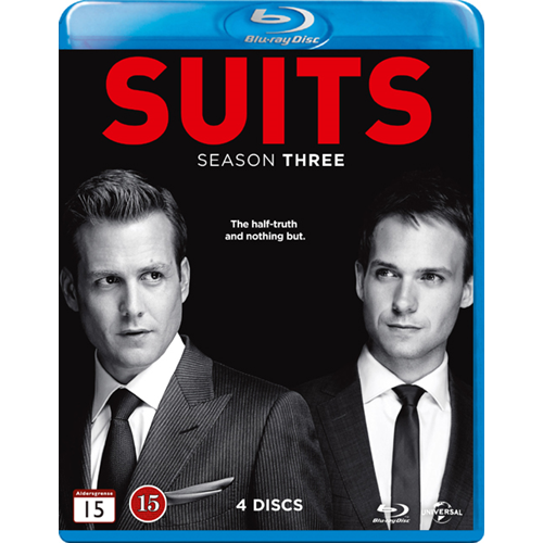 Suits - Sesong 3 (BLU-RAY)