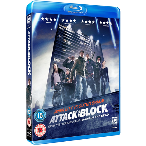 Attack The Block (UK-import) (BLU-RAY)