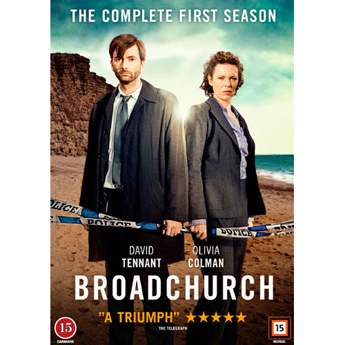 Broadchurch - Sesong 1 (DVD)