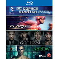 DC Comics Starter Pack: Flash/Arrow/Gotham - Sesong 1 (BLU-RAY)