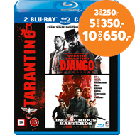 Produktbilde for Django Unchained / Inglorious Basterds (BLU-RAY)