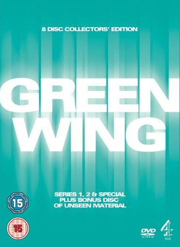 Green Wing - Serie 1 & 2 + Spesial (UK-import) (DVD)