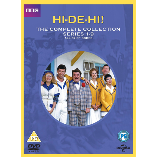 Hi-De-Hi! - The Complete Collection (UK-import) (DVD)