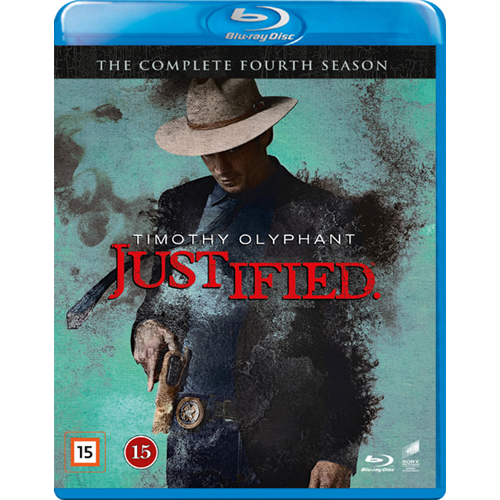 Justified - Sesong 4 (BLU-RAY)