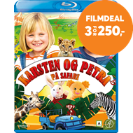 Produktbilde for Karsten Og Petra På Safari (BLU-RAY)