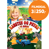 Produktbilde for Karsten Og Petra På Safari (DVD)