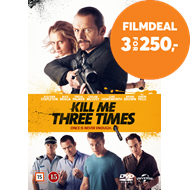 Produktbilde for Kill Me Three Times (DVD)