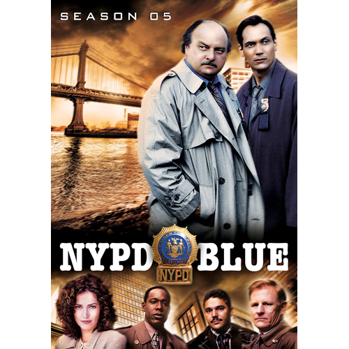 NYPD Blue - Sesong 5 (DVD - SONE 1)