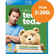 Ted / Ted 2 - Thunder Buddies - 2-Movie Collection (BLU-RAY)