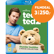Produktbilde for Ted / Ted 2 - Thunder Buddies - 2-Movie Collection (BLU-RAY)
