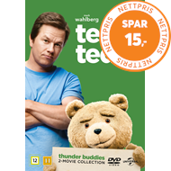 Produktbilde for Ted / Ted 2 - Thunder Buddies - 2-Movie Collection (DVD)