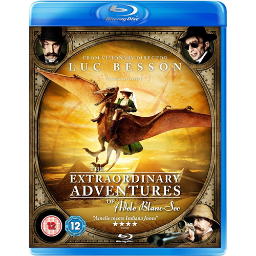 The Extraordinary Adventures of Adele Blanc-Sec (UK-import) (BLU-RAY)