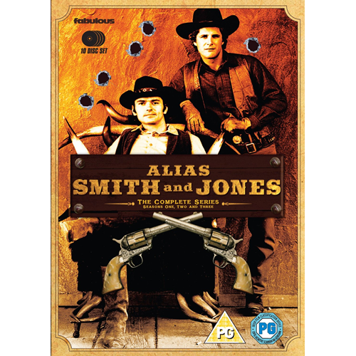 Alias Smith And Jones - The Complete Series (UK-import) (DVD)